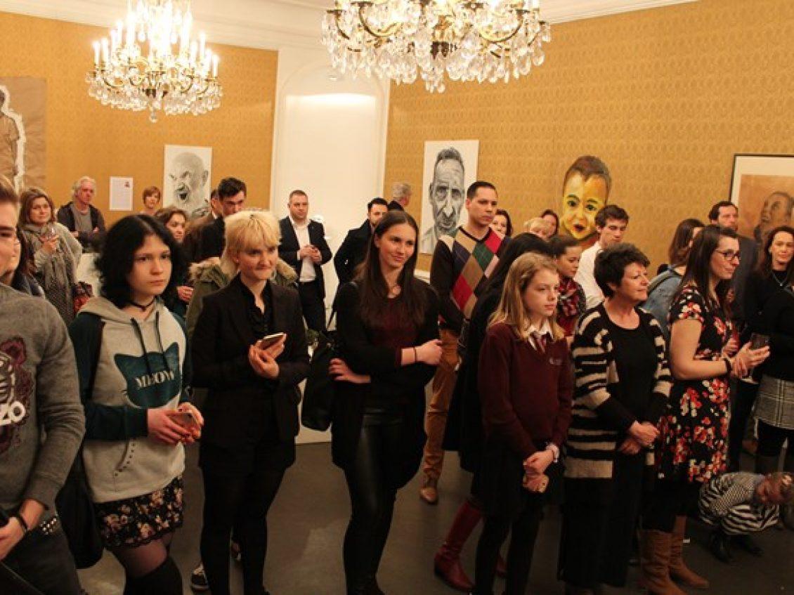 Študentská výstava BISB v ZOYA Gallery