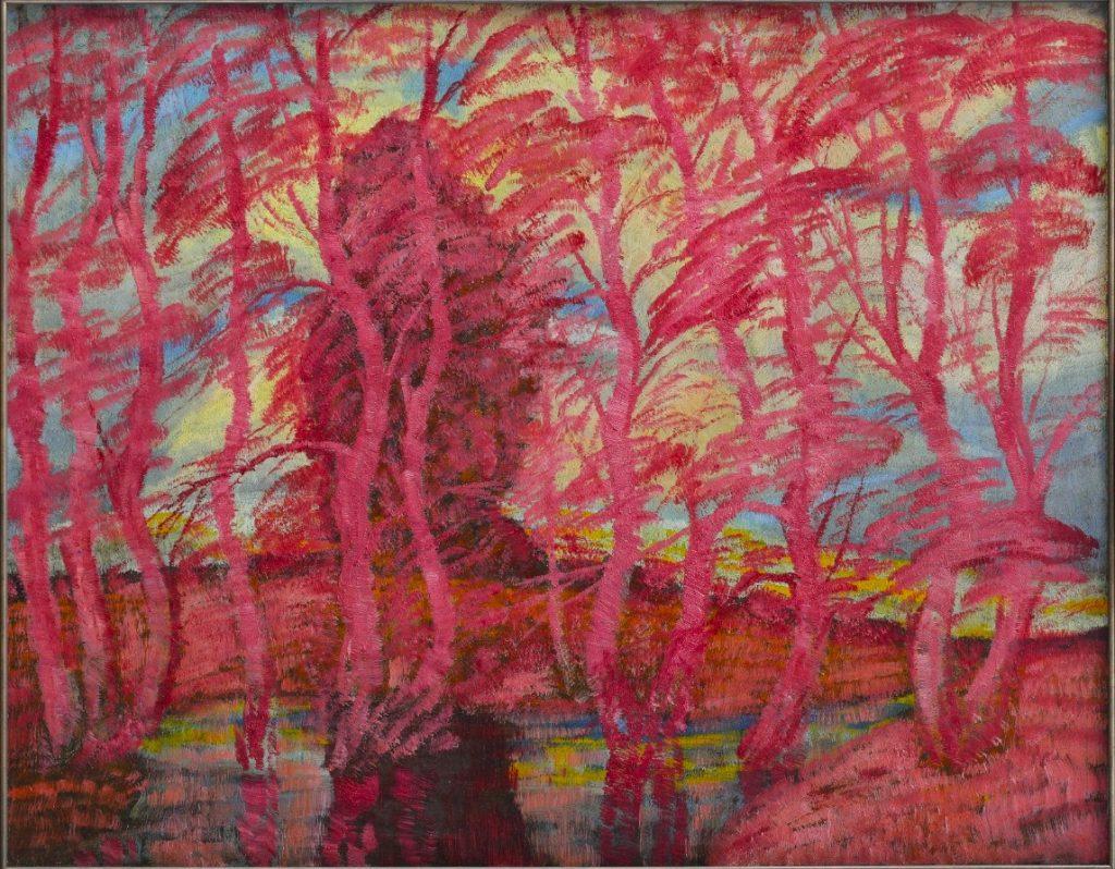 Anton Jasusch, Červený les, 1913/14