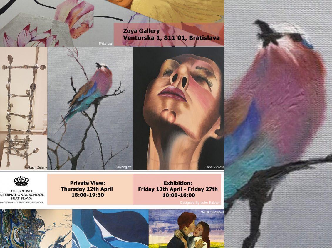 IB Art Exhibition v ZOYA Gallery Bratislava