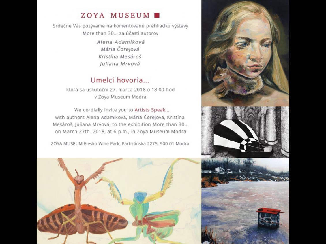 ZOYA Museum Modra – Umelci hovoria…