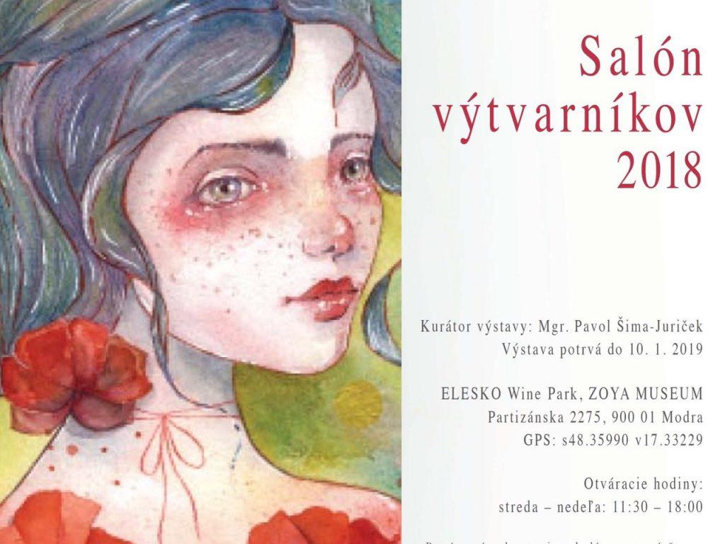 Salón výtvarníkov 2018 v ZOYA Museum Modra