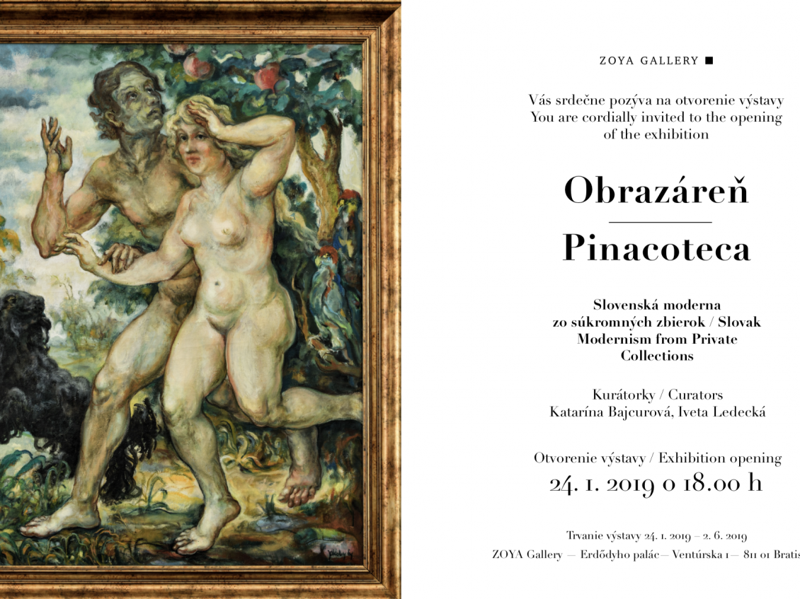 Obrazáreň ǀ Pinacoteca in ZOYA Gallery Bratislava